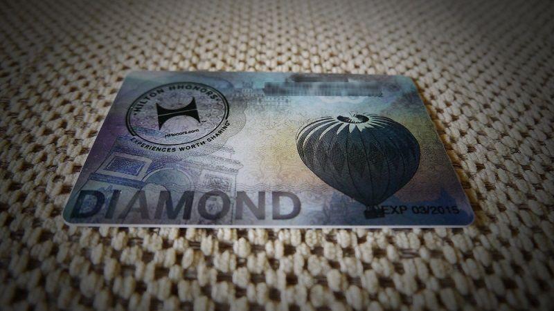 HILTON DIAMOND VIP
