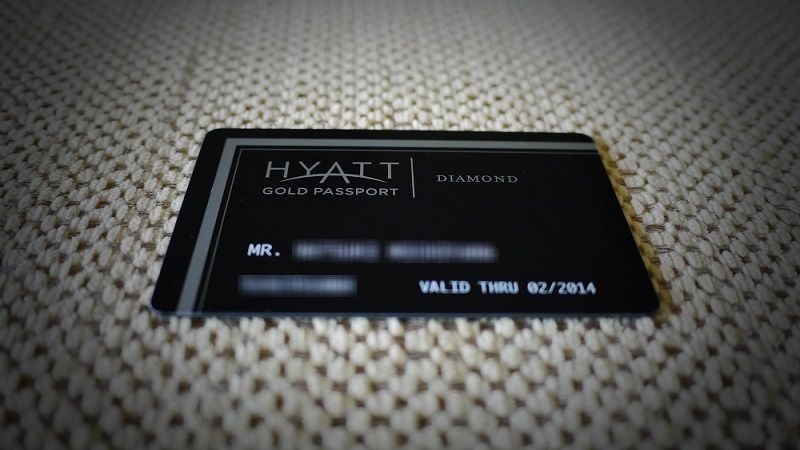 HYATT GOLD PASSPORT DIAMOND 2