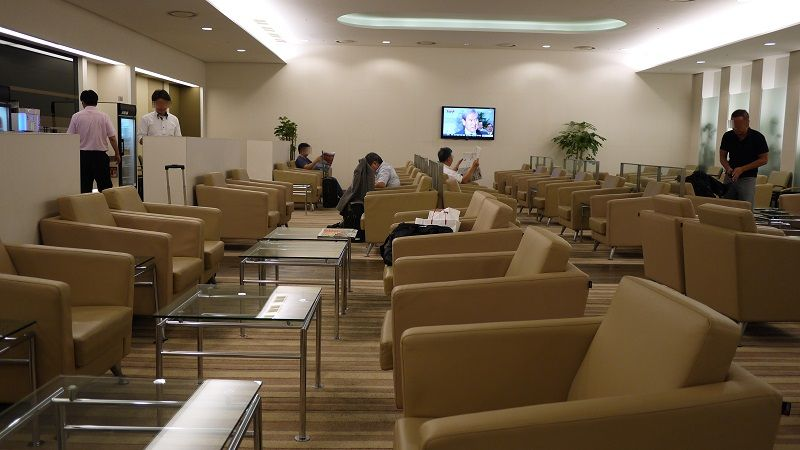 Gimhae International Airport KAL Lounge 15