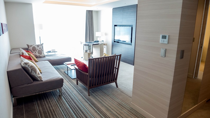 Hilton Okinawa Chatan twin onebedroom suite 201409 10
