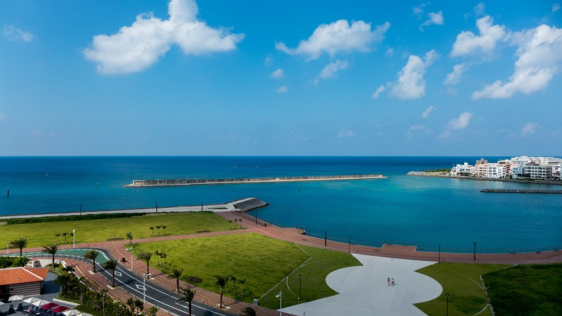 Hilton Okinawa Chatan twin onebedroom suite 201409 48
