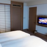 Hilton Osaka tower suite twin 201411 31