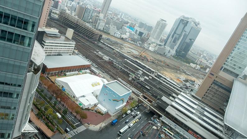 Hilton Osaka tower suite twin 201411 57