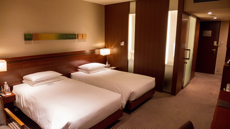 Hyatt Regency Tokyo deluxe Twin 201411 10