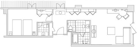 HYATT Regency Kyoto Deluxe Corner Twin 201501 1