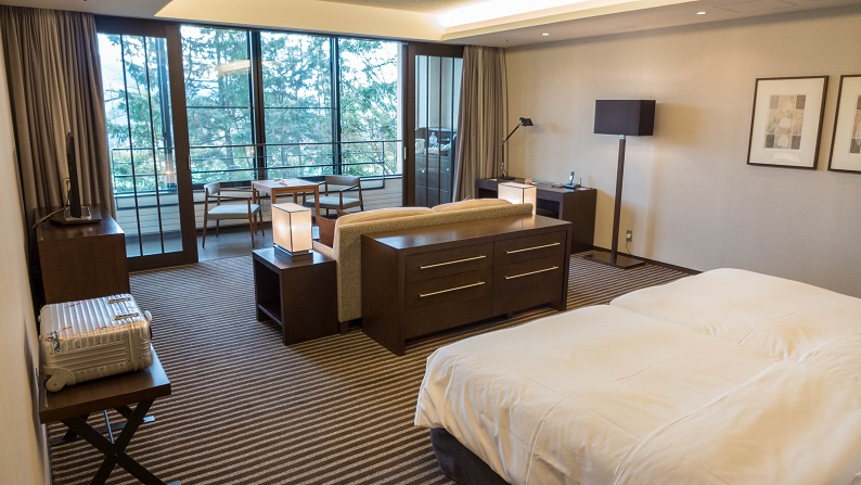 HYATT REGENCY HAKONE Deluxe Twin 201502 10