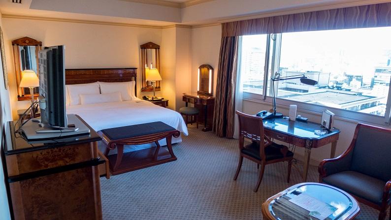 The Westin Hotel Tokyo executive-corner double 201502 25