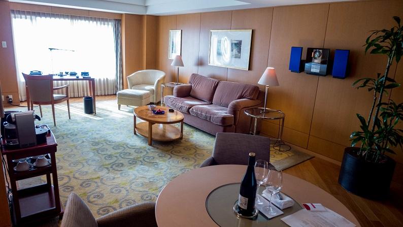 Grand Hyatt Fukuoka Executive Suite Twein 201503 2