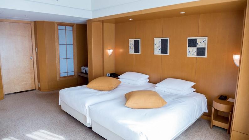 Grand Hyatt Fukuoka Executive Suite Twein 201503 21