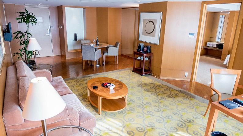 Grand Hyatt Fukuoka Executive Suite Twein 201503 3