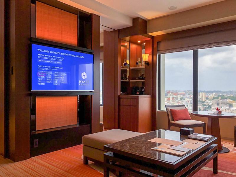 hyatt regency naha executive suite twin 201711 2