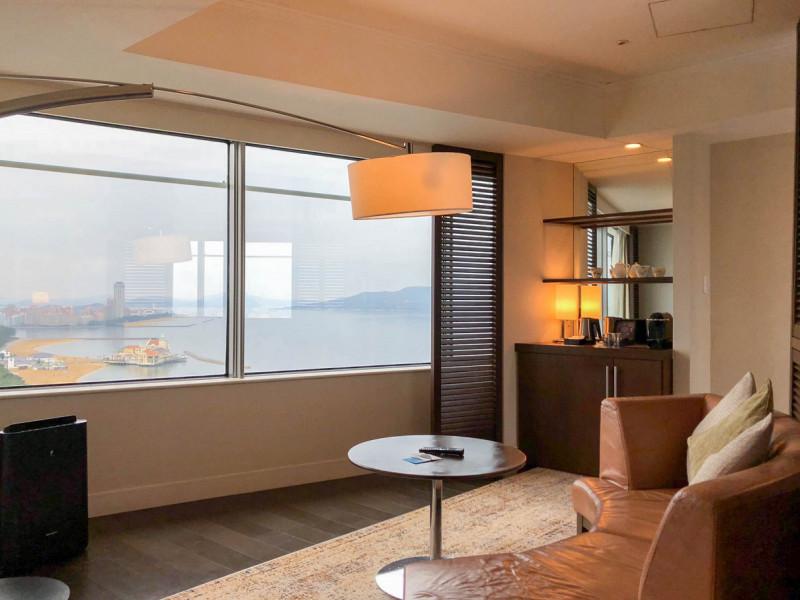 Hilton fukuoka Seahawk panoramic suite 201802 1