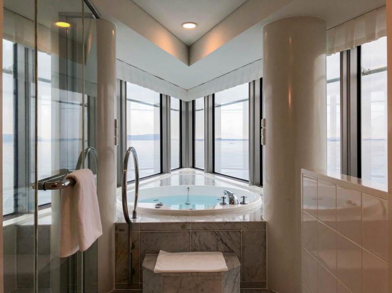 Hilton fukuoka Seahawk panoramic suite 201802 8