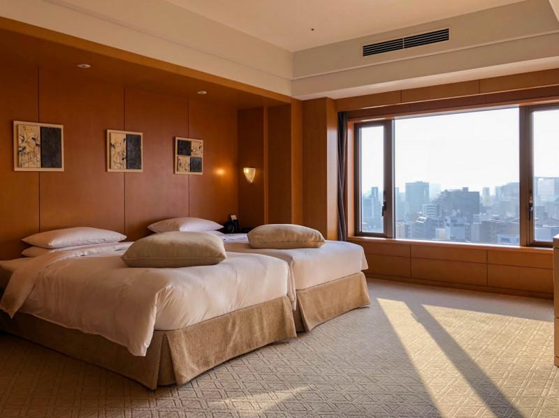 Grand Hyatt Fukuoka Executive suite twin 201802 4