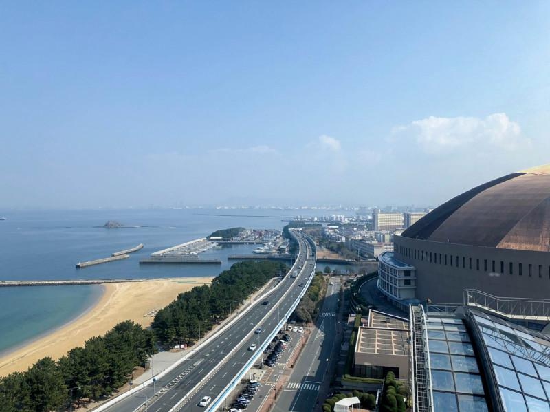 Hilton fukuoka Seahawk panoramic suite 201802 25