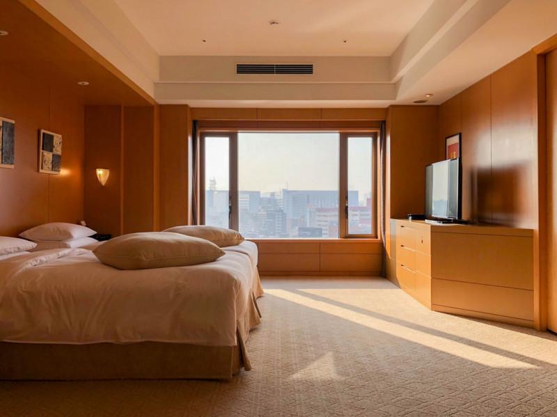 Grand Hyatt Fukuoka Executive suite twin 201802 5