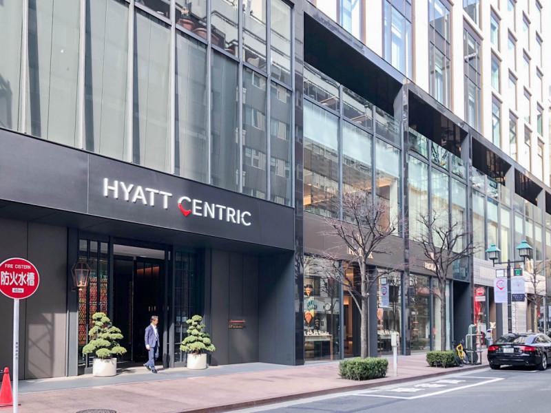 Hyatt Centric Ginza Tokyo standerd king 201802 1