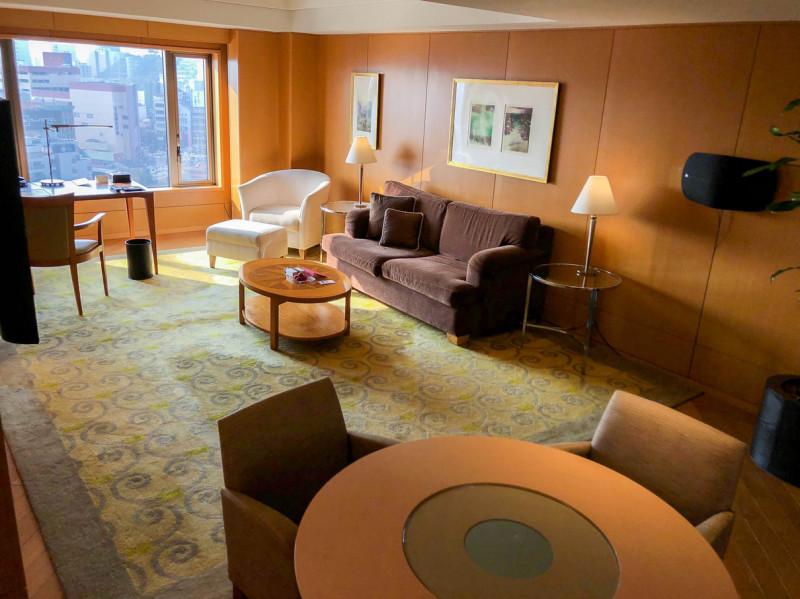 Grand Hyatt Fukuoka Executive suite twin 201802 2