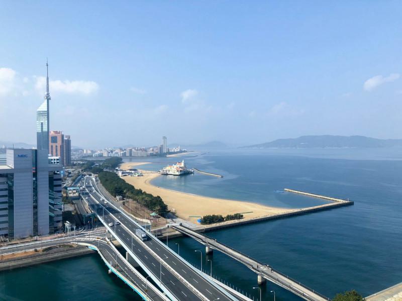Hilton fukuoka Seahawk panoramic suite 201802 24