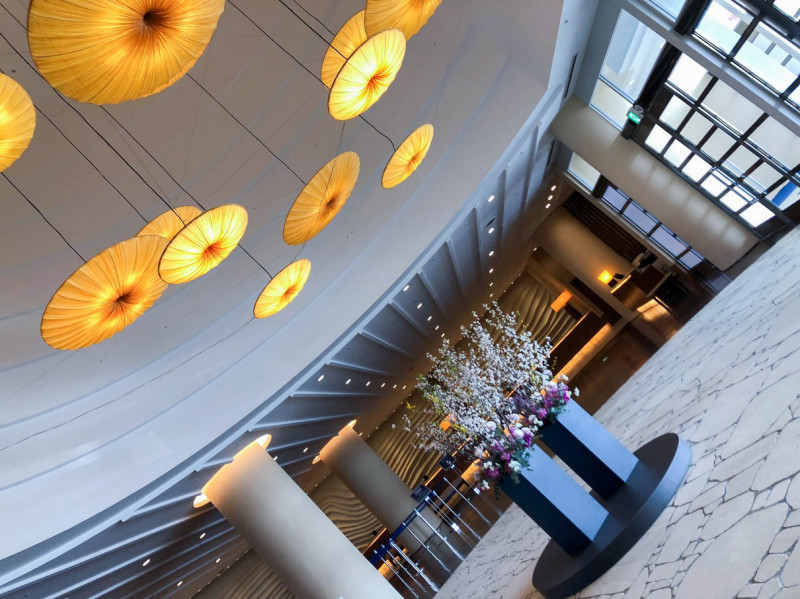 Hilton fukuoka Seahawk panoramic suite 201802 27