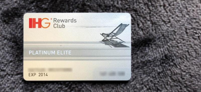 ihg platinum elite card 201805