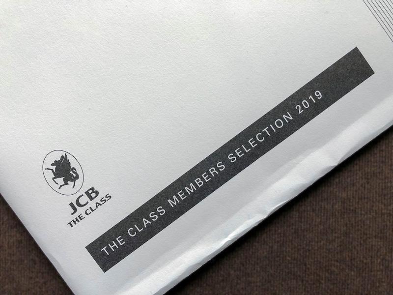 JCB The Class Members Selection club33 2019 1