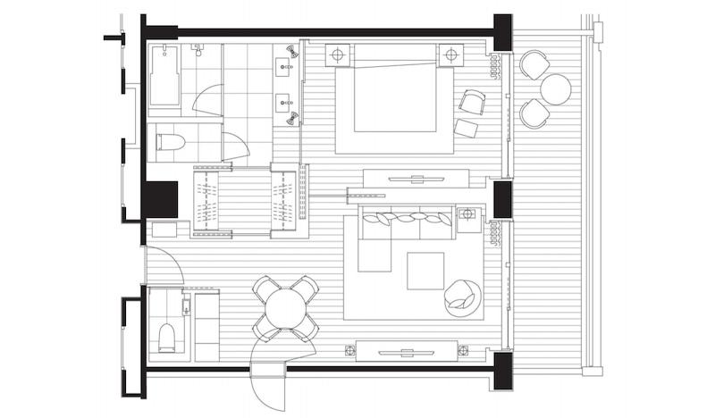 hyatt regency seragaki suite
