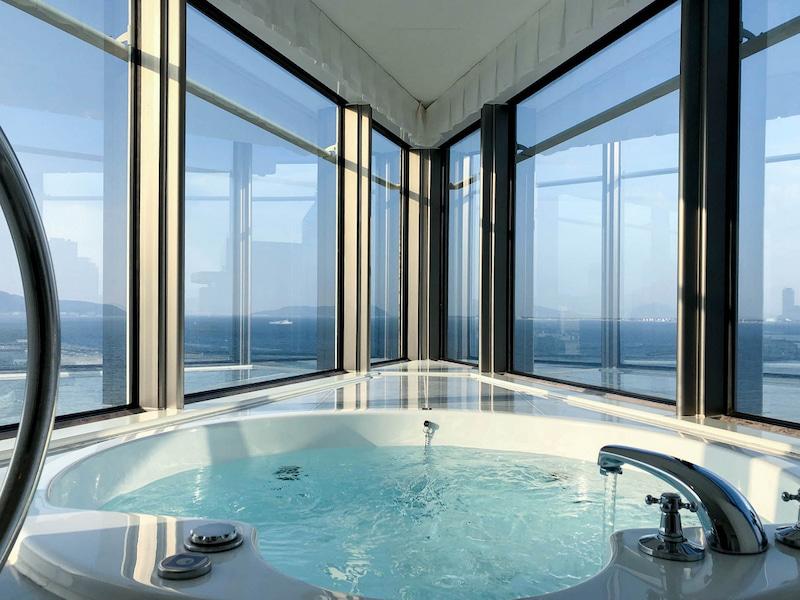 hilton fukuoka seahowk panoramic suite 201901 6